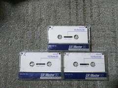 録音使用済カセットテープ ソニー UXマスター90 ハイポジション セラミックコンポジェット
