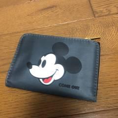 即決 MILKFED カードケース コインケース 小銭入れ ミッキー