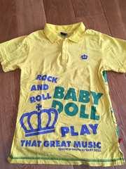 値下げ!おしゃれ!BABY DOLL 襟付きTシャツ S