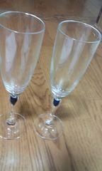 シャンパン グラス ペア