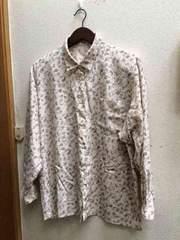 9号ペイズリー柄長袖テロテロシャツ