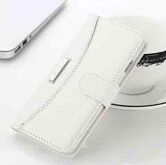 新品 iPhone7 iPhone8用 手帳型ケース ホワイト�C