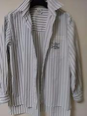 カステルパジャク 長袖シャツ L 綿100 定形外250