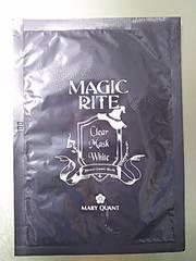 マリークヮント マジックライト 美白美容液マスク 1296円