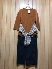 新品タグ付きW closetシャツ付きPO & GAPストレッチパンツ