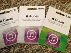 【各種モバペイ可】iTunesカード25000円分 即日対応
