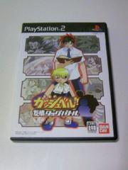 PS2 金色のガッシュベル!! 友情タッグバトル / フルボイス アニメ 格闘ゲーム