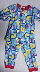 90フリースパジャマ