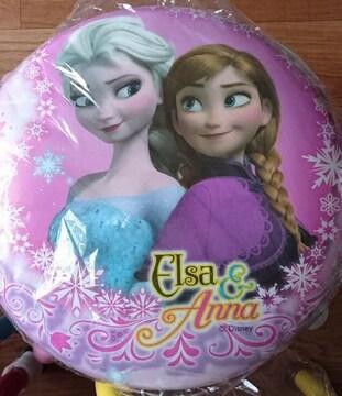 アナと雪の女王☆ピンク丸いす