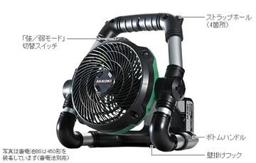 HiKOKI コードレスファン UF18DSDL(NN)
