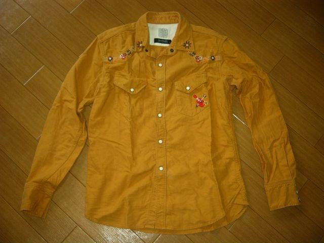 ルードギャラリーRUDE GALLERYウエスタンシャツ2刺繍ステッチ < ブランドの