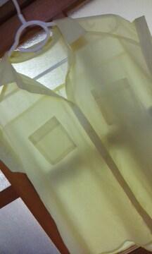 GU透け素材ブラウスLサイズ
