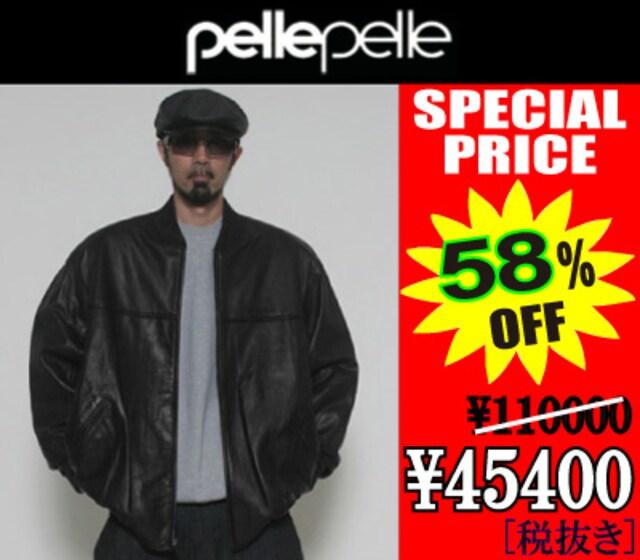 PELLE PELLE レザージャケット (BLACK) 【送料無料】  < ブランドの