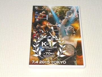 DVD★K-1 WORLD GP 2015 70kg初代王座決定トーナメント