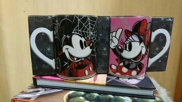 ディズニー2015 ハロウィン ミッキー&ミニー ペアマグ