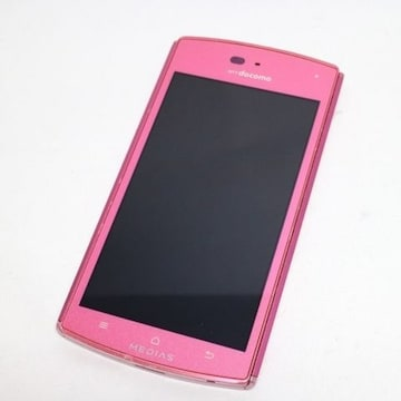 ●安心保証●美品●N-05D ピンク●白ロム