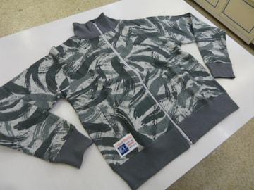 XL灰柄)オーシャンパシフィック★トラックジャケット スウェット 537008綿混