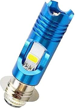 LUMILIGHT バイクLEDヘッドライト PH7 P15D 直流交流兼用 8W 600