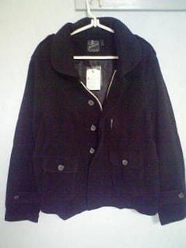 Aー437☆新品☆デザインジャケット ブラック L