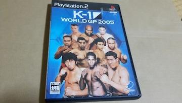 PS2☆K-1ワールドGP2005☆K1