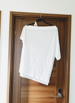 新品◆COLONY2139◆オフショルダーBIGTシャツ白F◆コロニー
