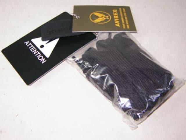 アビレックスAVIREX新品ハイカットスニーカーAV3722ブラックus10 < 男性ファッションの