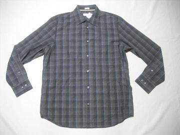 fy925 男 CK CALVIN KLEIN カルバンクライン チェックシャツ M