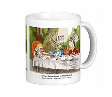 カラー版『 不思議の国のアリス 』のマグカップ