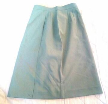 新品 ETOLARL スカート 9号 事務服 グリーン タグ付き 未使用品
