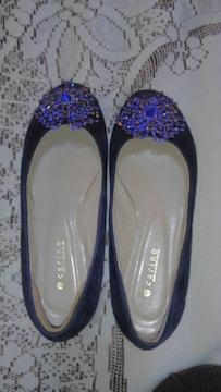 �H キラキラが綺麗な靴