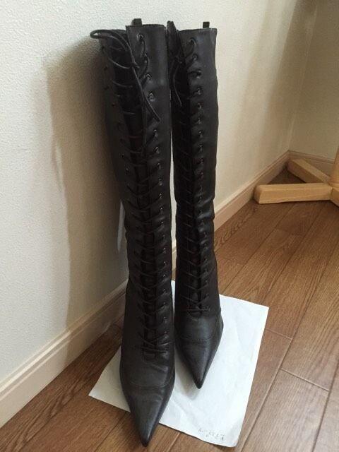 エスペ☆黒ブーツ < ブランドの