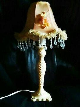 薔薇 シャンデリア テーブルランプ ライト  照明 ビンテージ