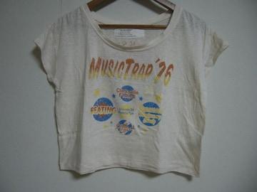 who's who chico ショート丈Tシャツ