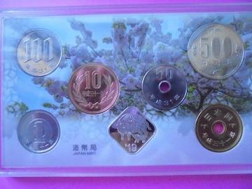 平成最後の31年全貨幣フルセット-桜の通り抜け