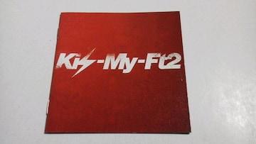 Kis-My-Ft2◆CDの封入特典[ミニ写真集]My Resistance-タシカナモノ- 1冊