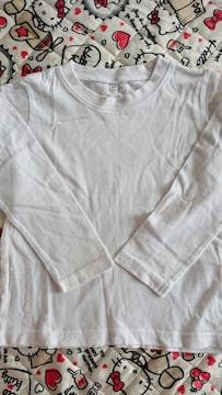 白 ロンT 110cm