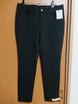 アンタイトル昨季新品黒ジャージストレッチレギンスパンツ大きいサイズ411号13号