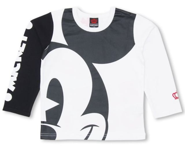 新品BABYDOLL☆ディズニー ミッキー ロンT 110 Tシャツ ベビードール  < ブランドの