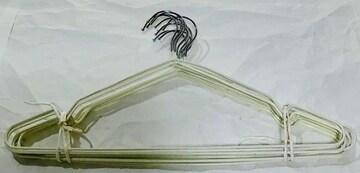 ズレ落ちにくいハンガー白10本3定形外郵便500円配送可能