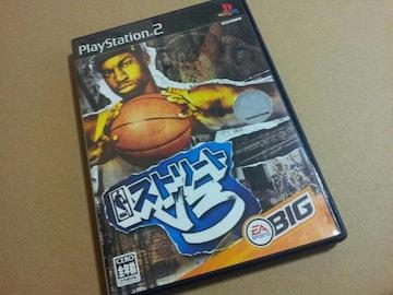 PS2☆NBAストリートV3☆ストリートバスケゲーム。