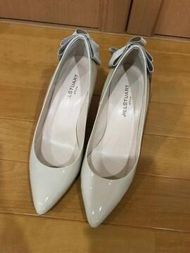 美品 ジルスチュアート パンプス 靴 レディース 23.5