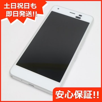 ●安心保証●美品●Y!mobile Android One S4 ホワイト●