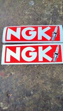 NGKステッカー赤127