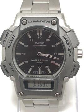 T328 CASIOカシオ AQ-150W クォーツ メンズ 腕時計