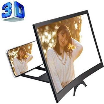 Gliston 携帯電話スクリーン拡大鏡 HD 12インチ スマホ