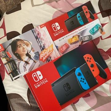 送料込み 新品 Nintendo Switch ネオン ニンテンドースイッチ