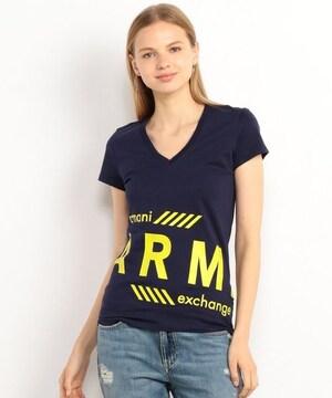 タグ付き新品アルマーニエクスチェンジ半袖TシャツVトップス女性