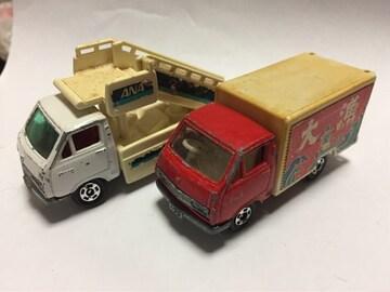 ジャンクトミカ・大漁トラック、空港タラップカー(他も出品中)