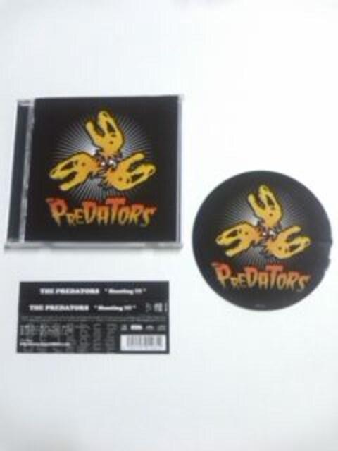 (CD)PREDATORS/プレデターズ<pillows/ピロウズ、GLAY/グレイ>☆ステッカー付き  < タレントグッズの