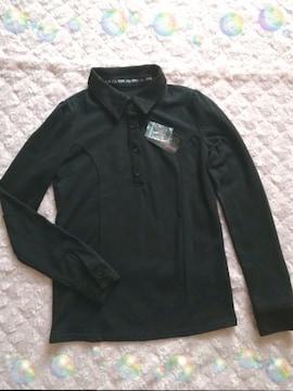 新品☆Pink Penguin*襟&袖レースポロシャツ